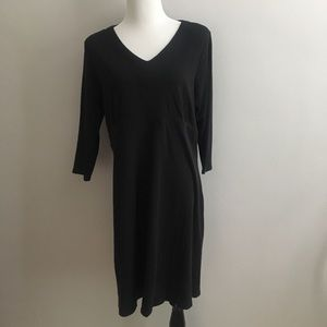 Fair Indigo Black career black dress XL (16/18)